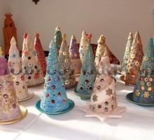 Smrečice-lučke, poslikana keramika