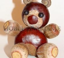 Medvedek iz kostanja