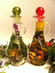 Aromatična kis in olje