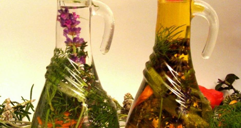 Aromatična kis in olje z dodatkom ekstravagantnosti