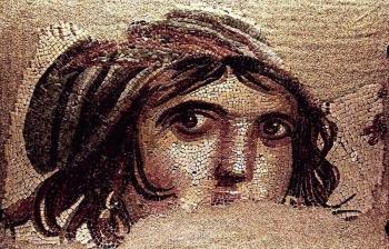 Košček na košček barvit mozaik