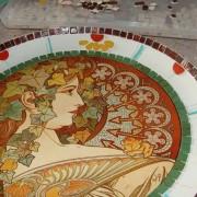 mozaik krožnik 026