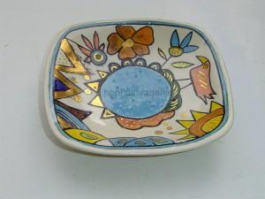 poslikava keramika  skleda zlato , (1)