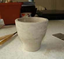 Prototip oz. model izdelamo iz gline