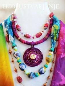 nakit iz svile maja remic HOBI USTVARJANJE
