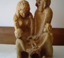 Jaslice iz lesa, rojstvo, arhitekt Marijan Vodnik.