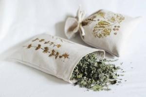 Vrečke, tisk z zelišči , mateja (4)