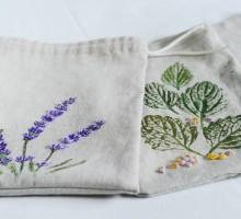 Vrečke, tisk z zelišči , mateja (8)
