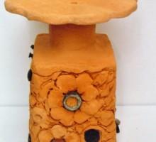 Slika 2: Vaza - keramika, kovina
