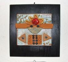 Slika 3: Relief - keramika, kovina, steklo
