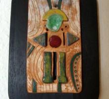 Slika 4: Ploščica - keramika, kovina, steklo